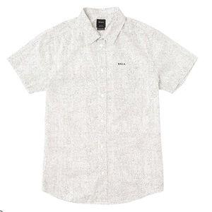 RVCA Benji Printed Button Up Shirt